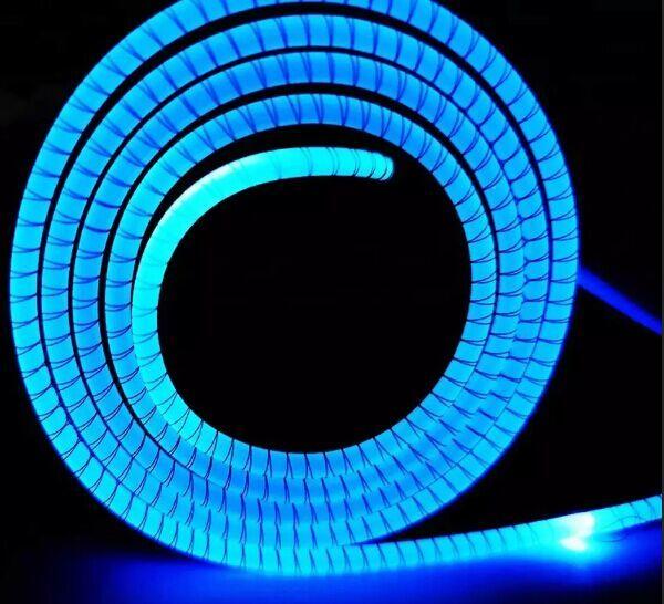 Custom gaming lighting RGB led mouse pad