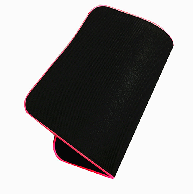 Custom rgb gaming mouse pad, led light mouse mat xxl