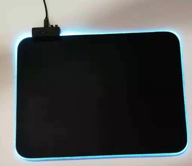Custom Lighting RGB LED Gaming Mouse Pad Manufacturers, Glowing RGB Gaming Mousepad