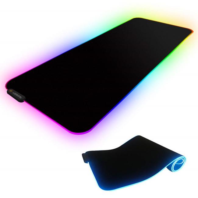 Custom printed self-adhesive memory form high quality largeled gaming mouse pad custom boob microfiber mouse pad