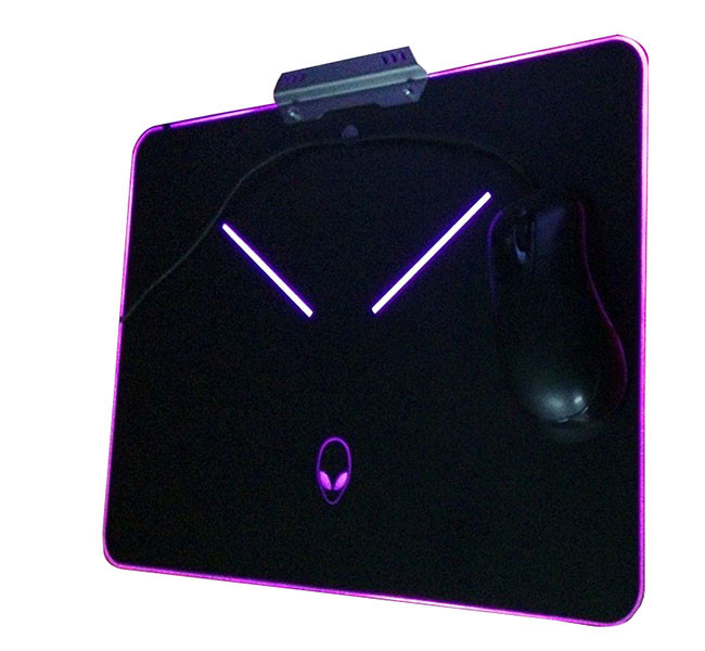 Promotion mouse pads manufacturers offer RGB LED Backlit Gaming Mouse Pad From China