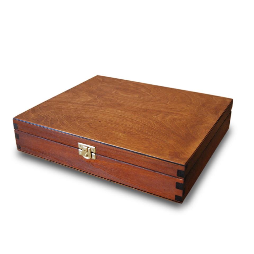Decorative Birch Wood Gift Box For Jewelry