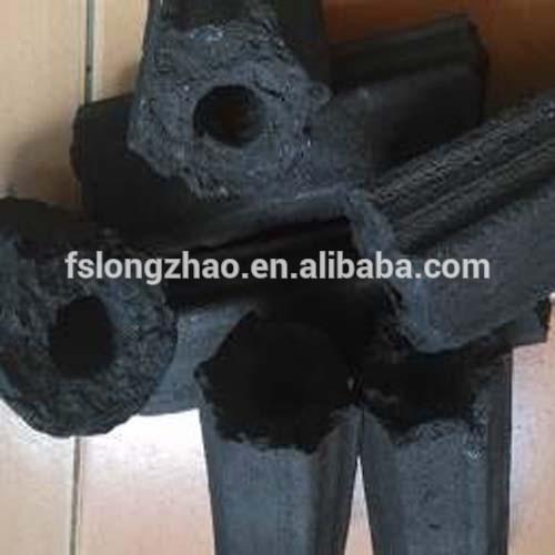 100 % Hardwood Sawdust Briquette Charcoal Hexagonal
