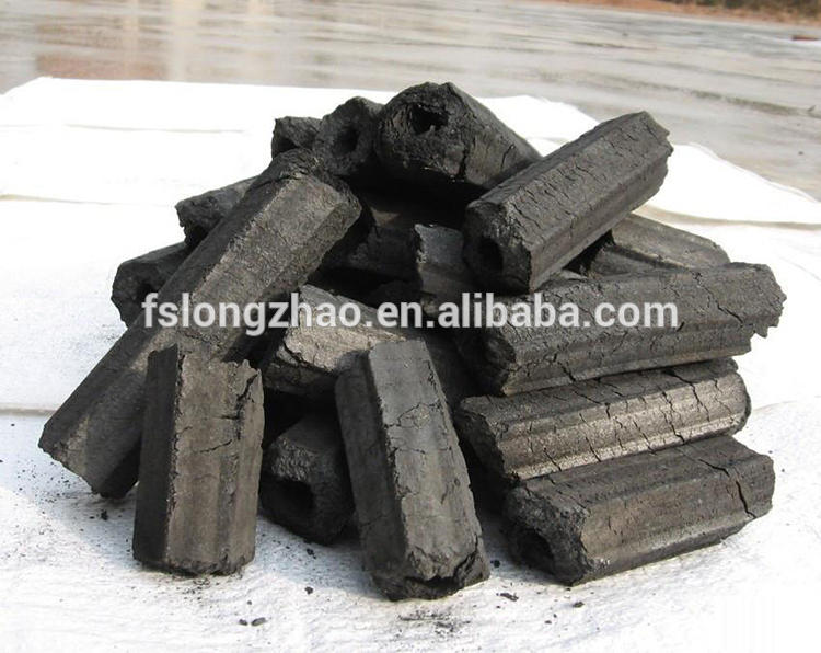 Barbecue charcoal sawdust hardwood hexagon briquette charcoal