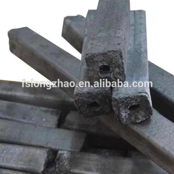 Natural cube shape shisha coconut shell charcoal