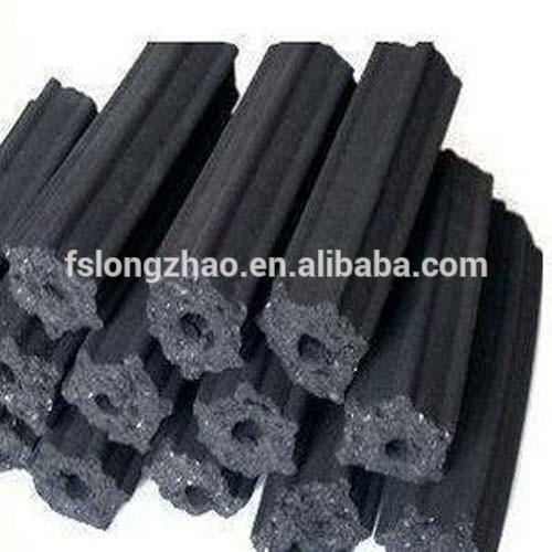100% Eco-Friendly Hexagonal Coconut Charcoal for BBQ Grill