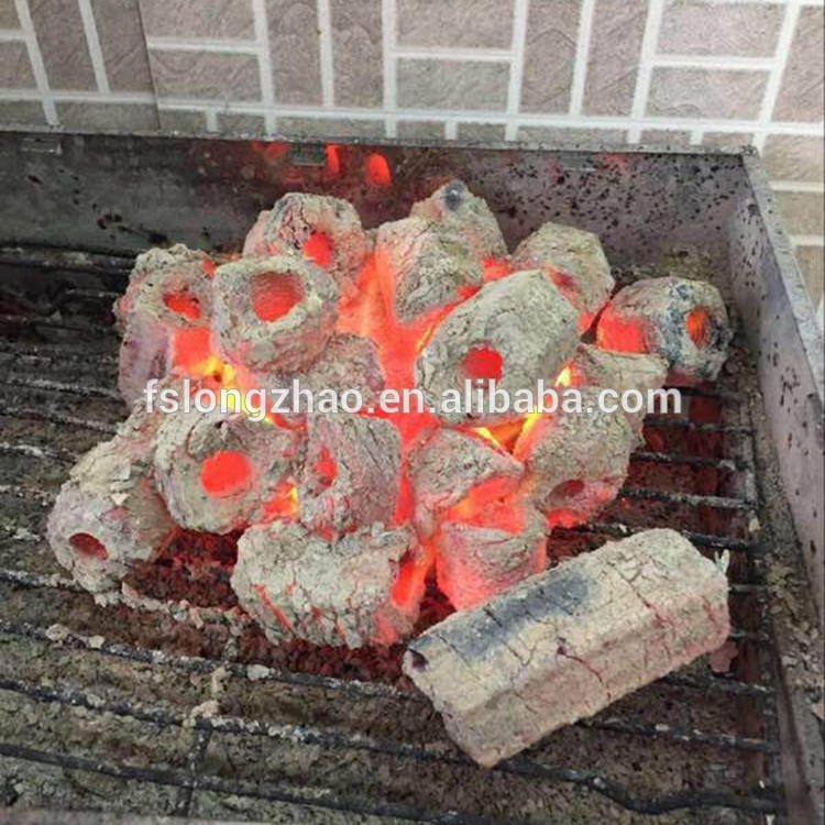 Machine Made Non Smoking Barbecue Sawdust Charcoal Bar