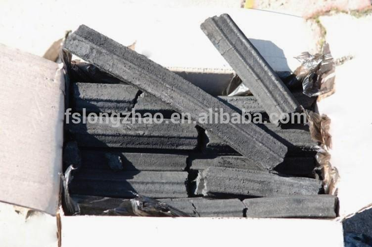 China wholesale wood charcoal briquette bamboo sawdust pressed charcoal