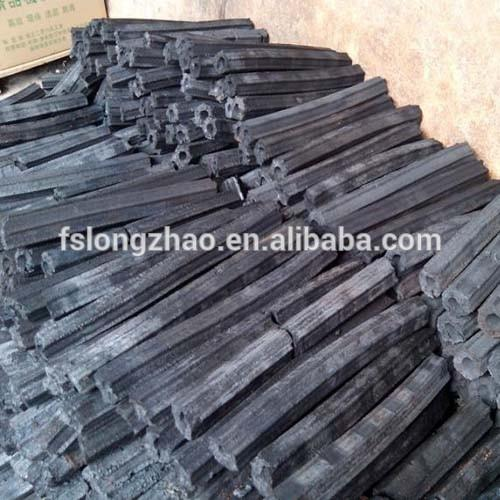 Black Charcoal Type and Briquette Shape Charcoal