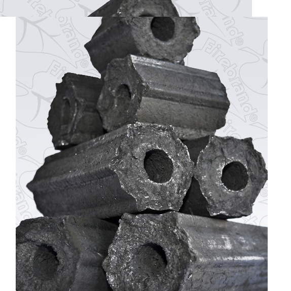 Hexagonal Shape charcoal Hexagonal BBQ Charcoal