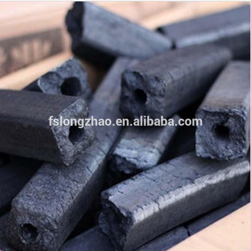 long burning hexagon bbq quadrangle sawdust charcoal price competitive