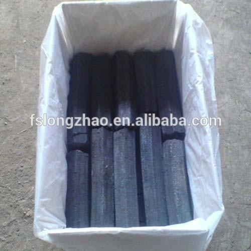 Top Quality 100 % Hardwood Sawdust Hexagonal Briquette Charcoal
