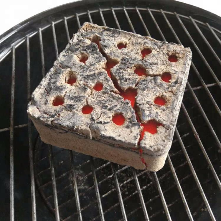 Bamboo bbq charcoal coconut shell charcoal briquette for bbq