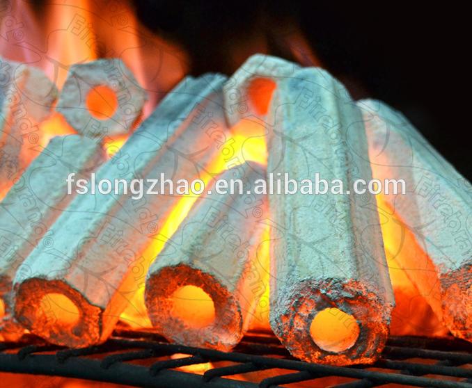Smokeless Charcoal BBQ Sawdust Charcoal in 10kgs/carton