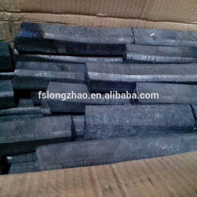 Quadrangle/Hexagonal machine made charcoal/green environmental protection BBQ charcoal hot sale