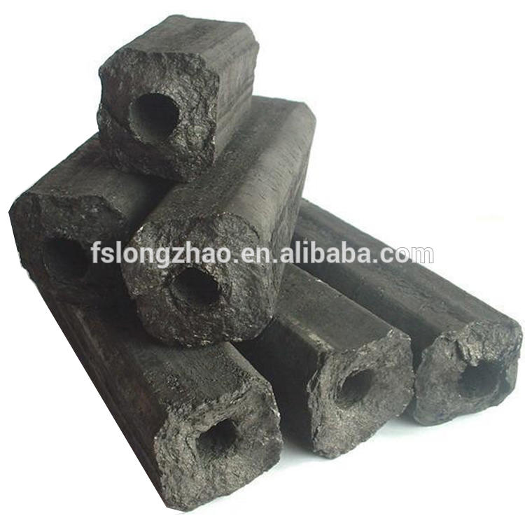 Natural cube shape shisha coconut shell charcoal