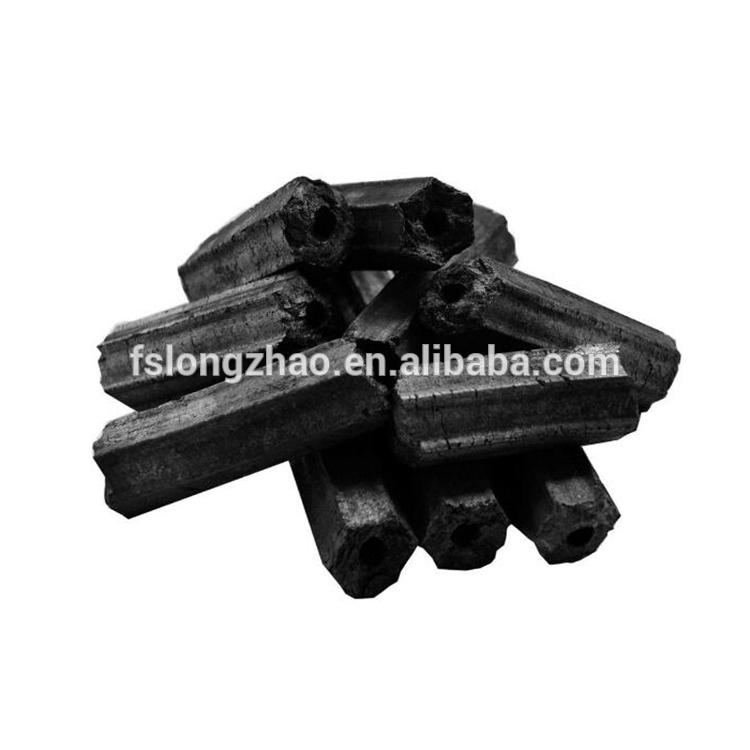 Professional factory of BBQ charcoal BBQ briquette white ash
