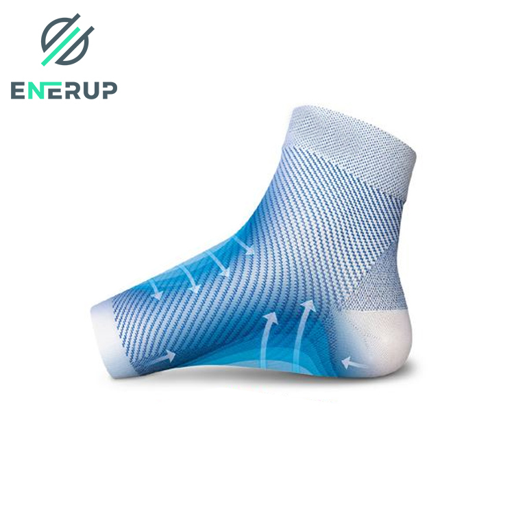 Enerup Soreness Pain Relief Compression Ankle Plantar Fascities Sleeve Support Brace Socksfor Sport Exercise Protect