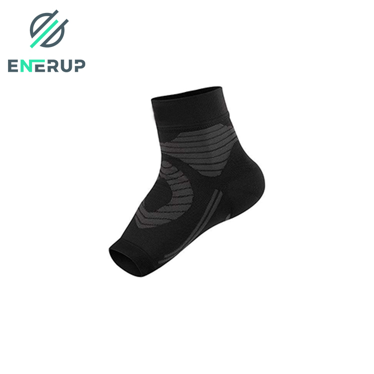 Enerup Durable Breathable Elastic Neoprene Protective Compression Ankle Support Brace Sleeve Supports For Fitness Sports Gym