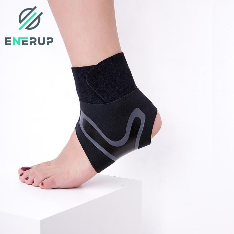 Enerup Plantar Fasciitis Breathable Adjustable Plastic Neoprene Foot Sleeve Sport Ankle Support Brace Wrap