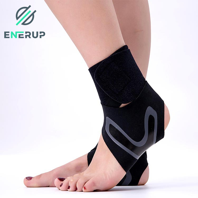 Enerup High Quality Sports Stabilizer Shoe Heel Protectors Ankle Foot Support Brace