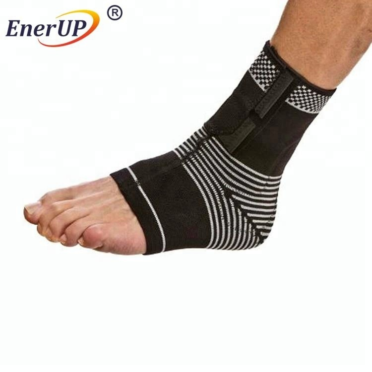 Compression knitted foot sleeve sports adjustable Ankle Support wholesales