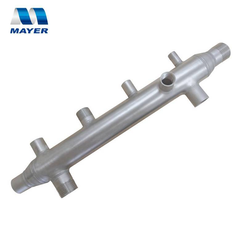 Multi way water manifold 3-16 branches stainless steel pipe fitting