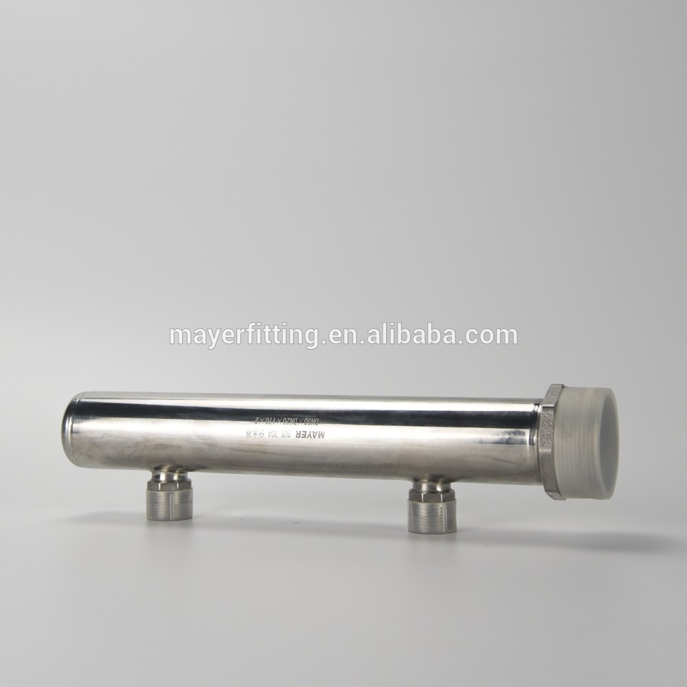 Quartz Thimble Case Stainless Steel Manifold 304