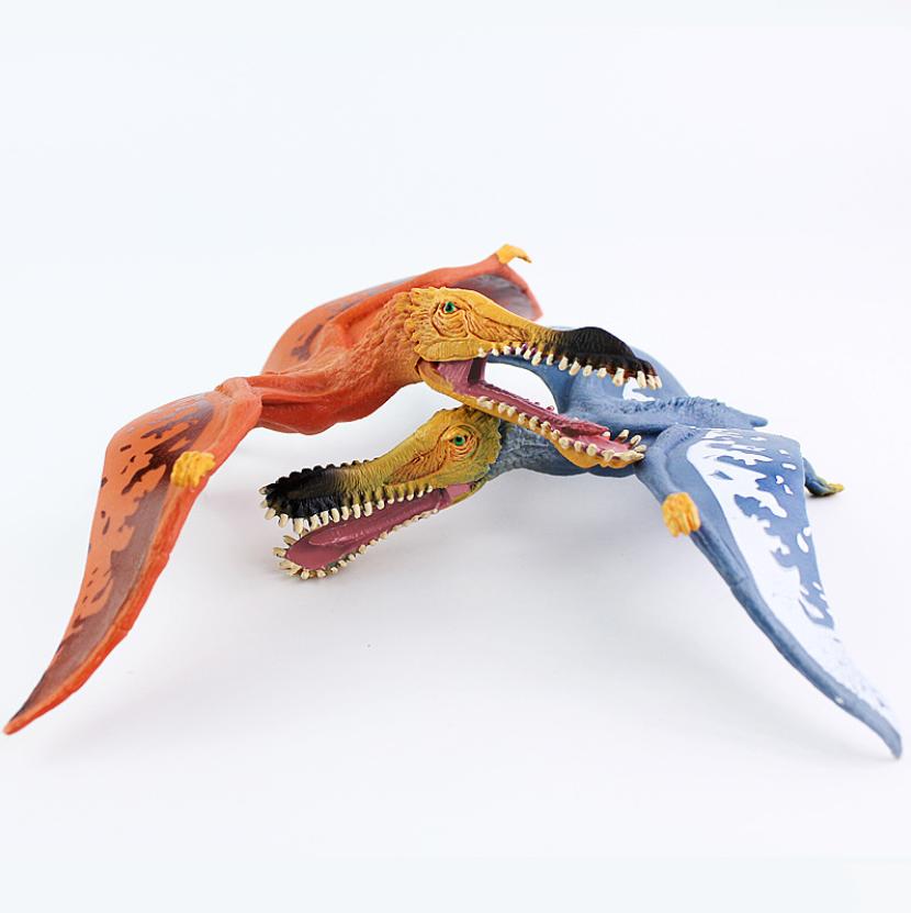 Customized Factory Hot Sale Plastic PVC Jurassic Dinosaur Pterosaur Figure Model Toys Anciel animal Toy