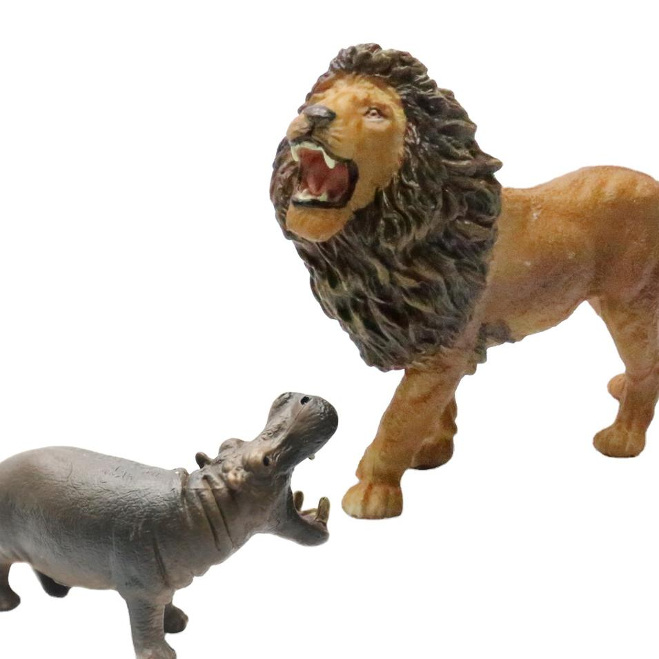 2020 cheap wild animal model small animals plastic toy for promotional