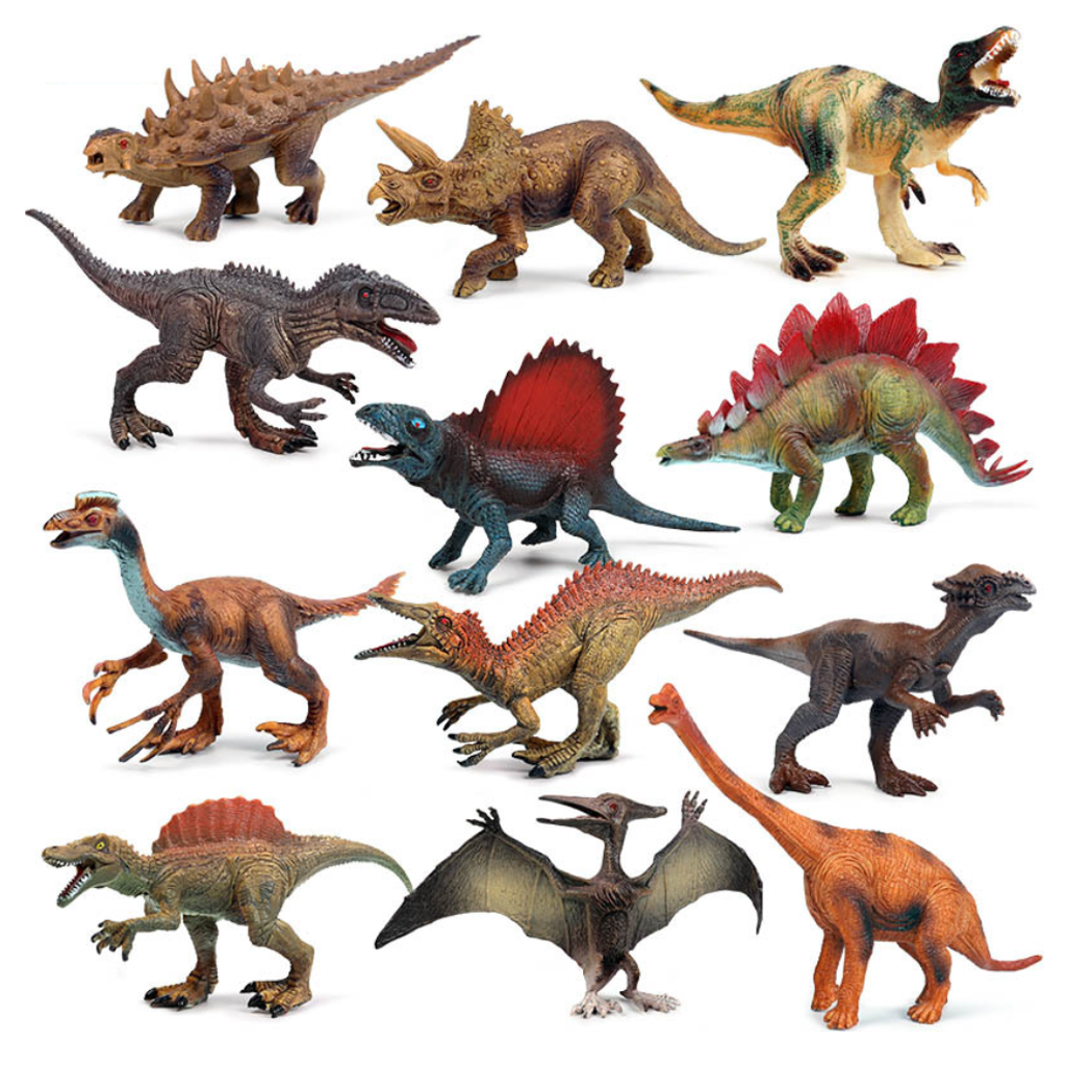 2020 latest design and fast sample dinosaur cartoon toy educational hot sale toy