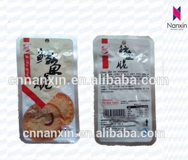 retort pouch aluminum foil vacuum bag for cooked food