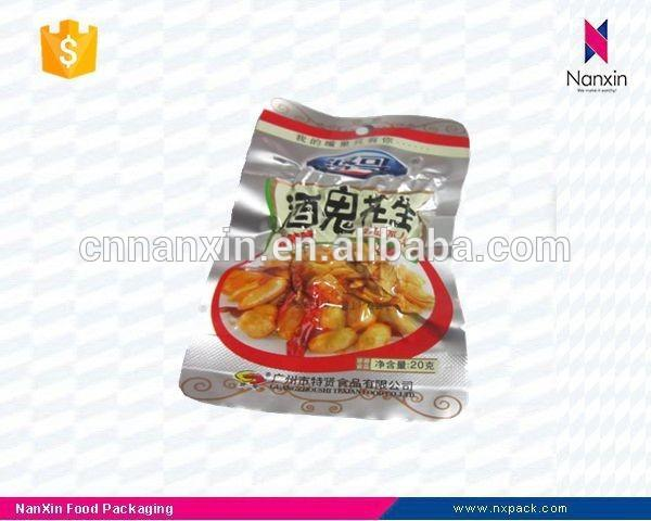 aluminum foil peanut packaging vacuum bag