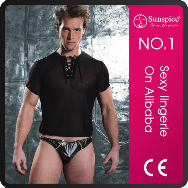 Sunspice hot sales top quality guarantee transparent men's sexy underwear
