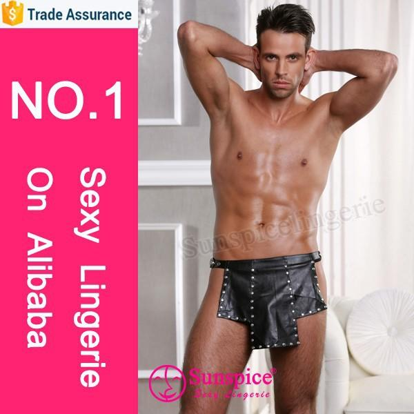 Top quality new design sexy catwoman costume for men sexy gay men costume sexy men's underwear