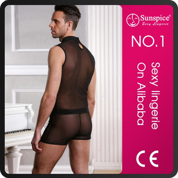 whosale supply sunspice top quality gay underwear man see through designs underwear