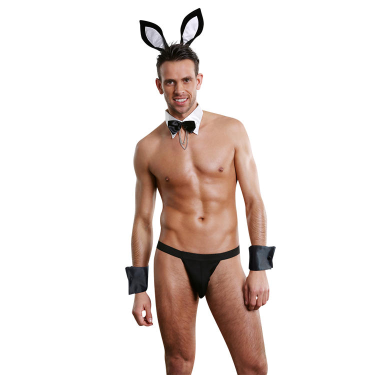 hot sale cute bunny boy sexy costume young teens in sexy underwear