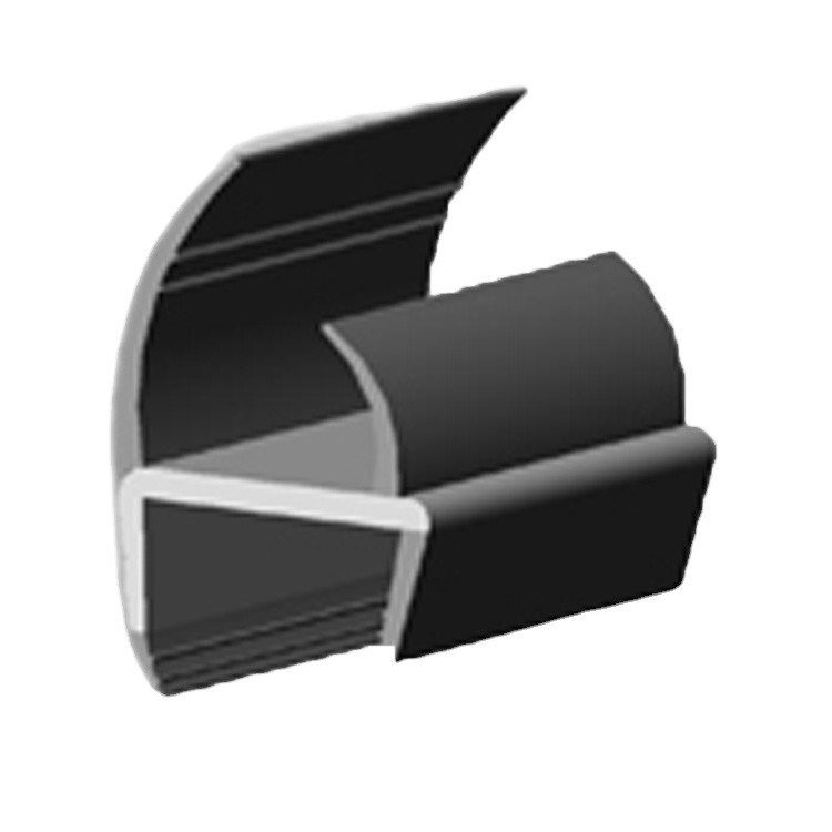 0.504 Kg/M Silicone Rubble Truck Trailer Door Seals