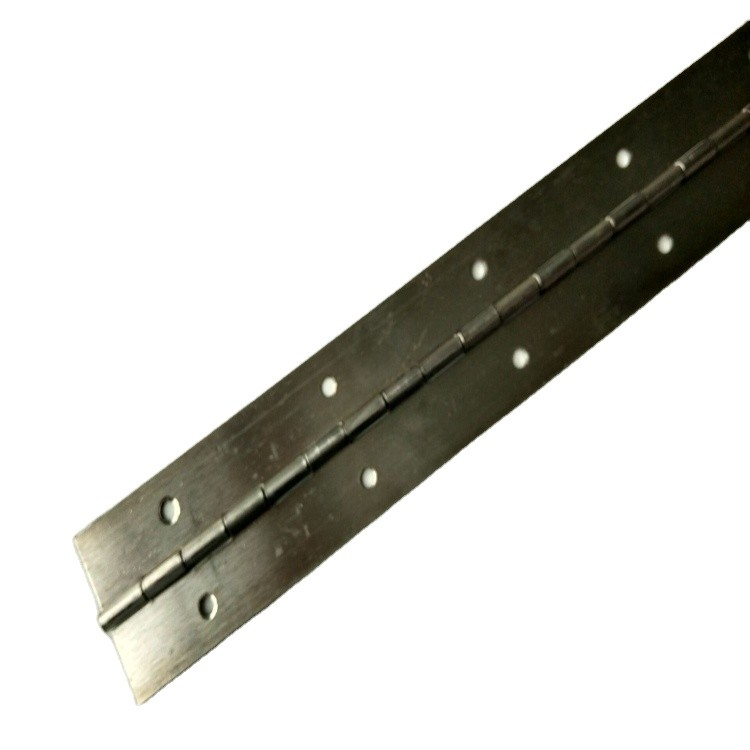 China Custom Punched with holes 201304 316Stainless Steel Piano hinge