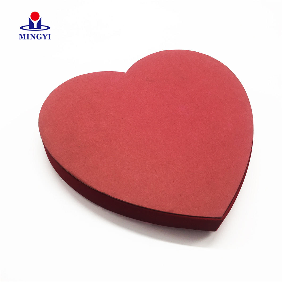 China Factory Luxury Hand Make Big Heart Shape Clothes Paper display box