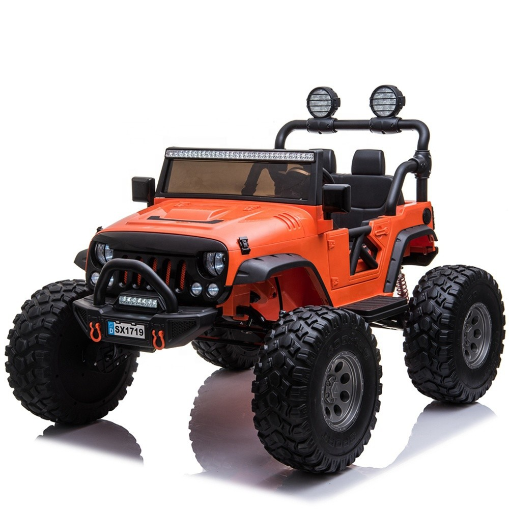 Remote battery cars for children 12 years electric kids ride on car 12V jeep