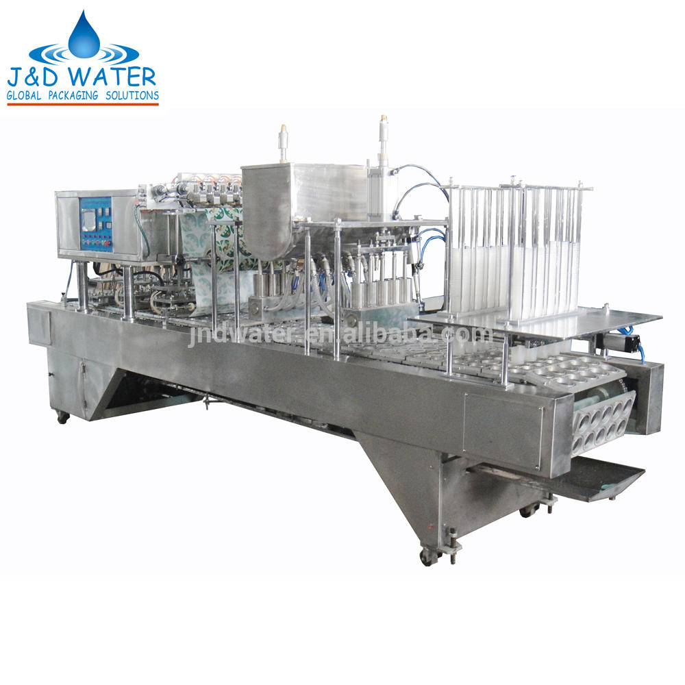 Hot sale Cup filling and sealing machine with power 8.2 kw