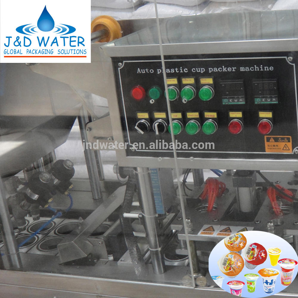CE certificate Ice Cream Cup Filling and Sealing Machine