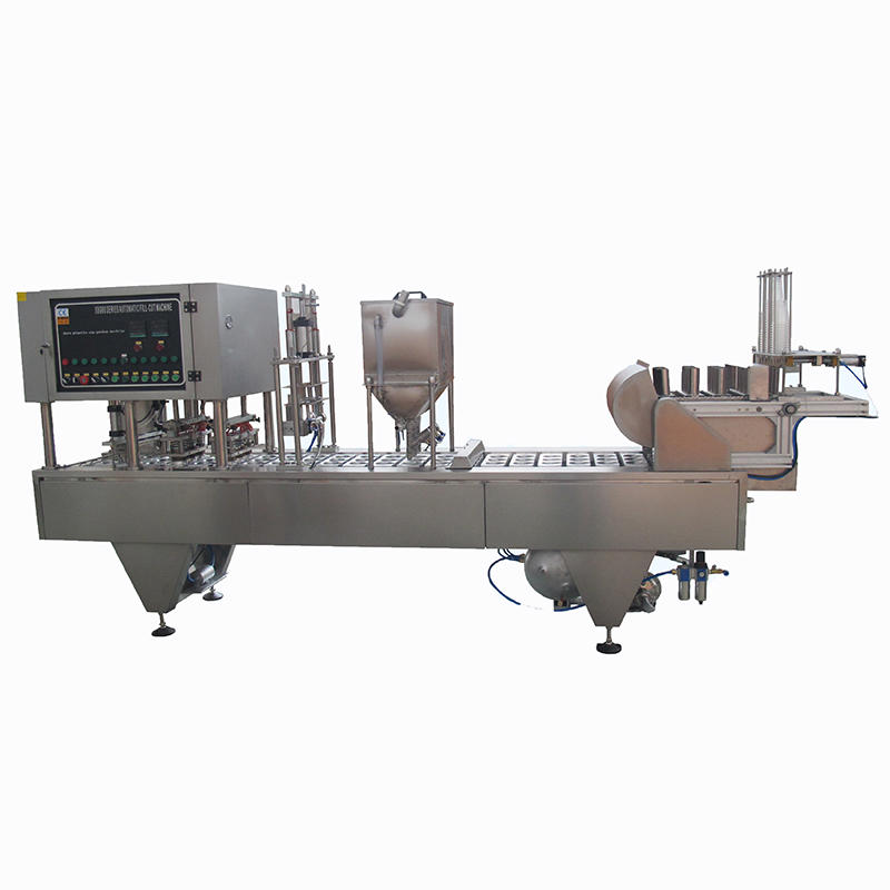 High Quality semi-automatic Juice tea Beverage Cup Filling Sealing Machines