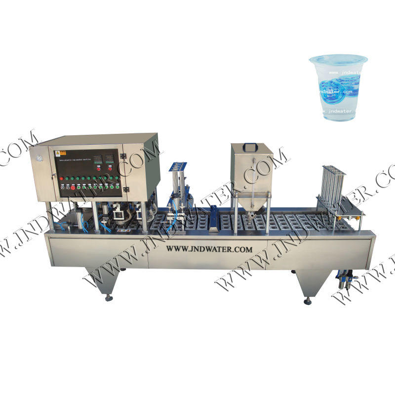 Automatic Water Cup Rinsing Filling and Sealing Machine