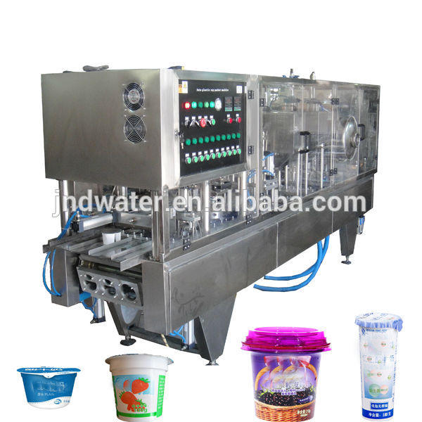 Automatic Cup Yogurt Filling Sealing Machinery