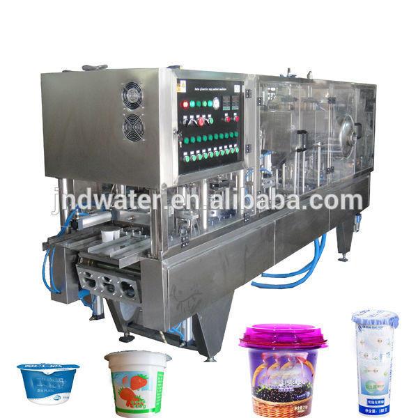 Automatic Cup Yogurt Filling Sealing Machinery