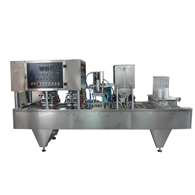 Fruit Jelly Cup Sealing Machine