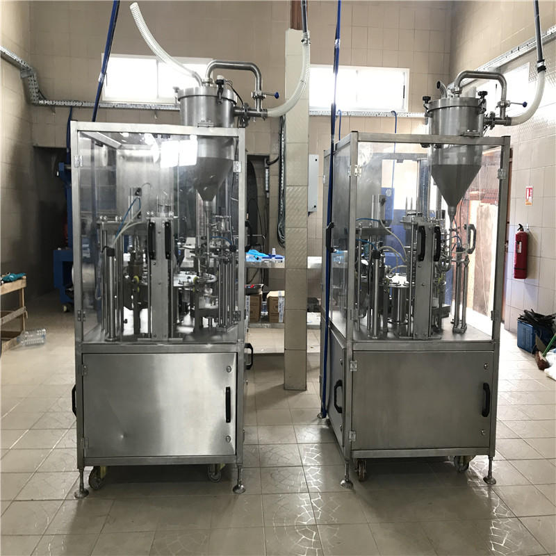 Certification Automatic cupping and sealing machine cuppingfilling machine roll film