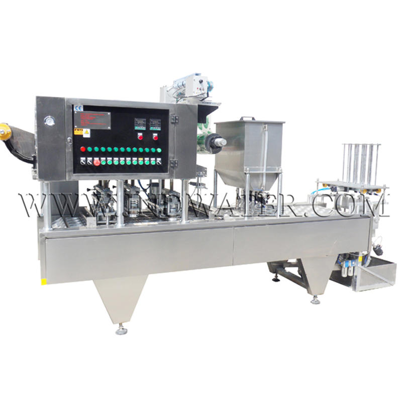High Quality Water Drinks Cup Filling and Sealing Machine Manufacturer